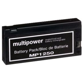 Blei-Akku 12Volt - 2Ah (MP1250) Multipower/Powery