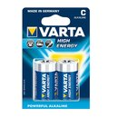 Varta Batterie High Energy C Baby 4914 - 2er-Blister