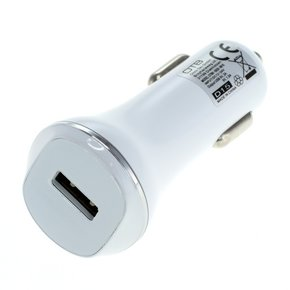 KFZ-Ladeadapter USB - Quick Charge 2.0 - weiß